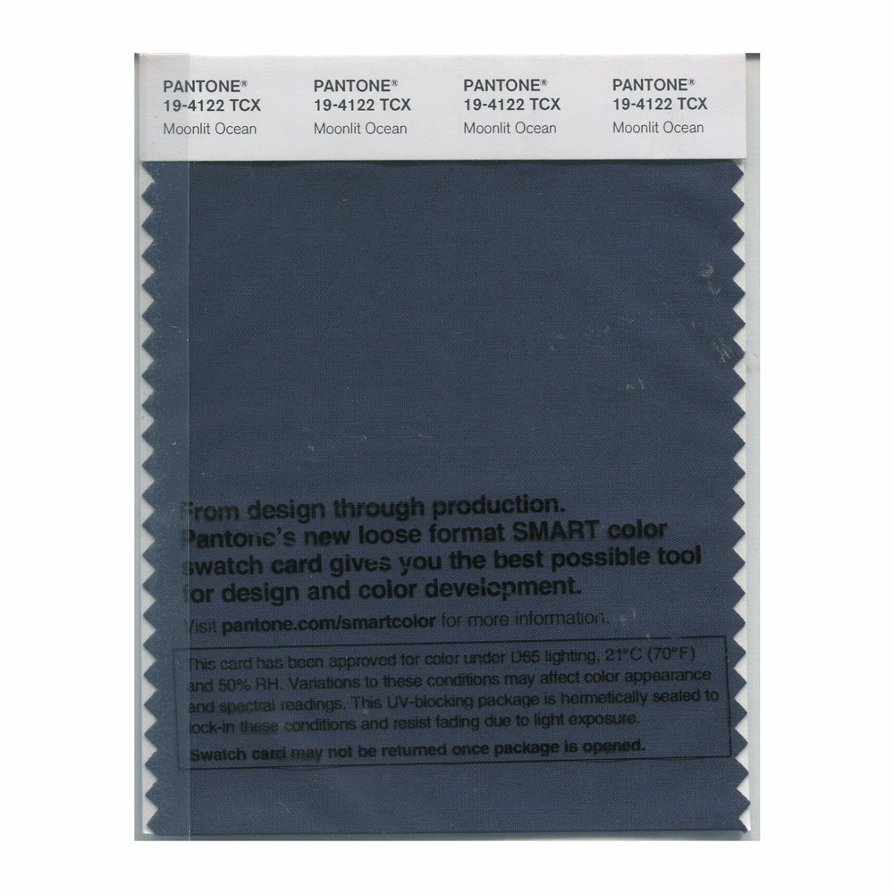 Pantone Smart Swatch 19-4122 Moonlit Ocean