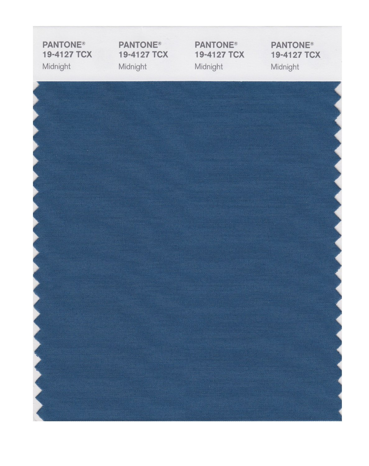 Pantone Smart Swatch 19-4127 Midnight