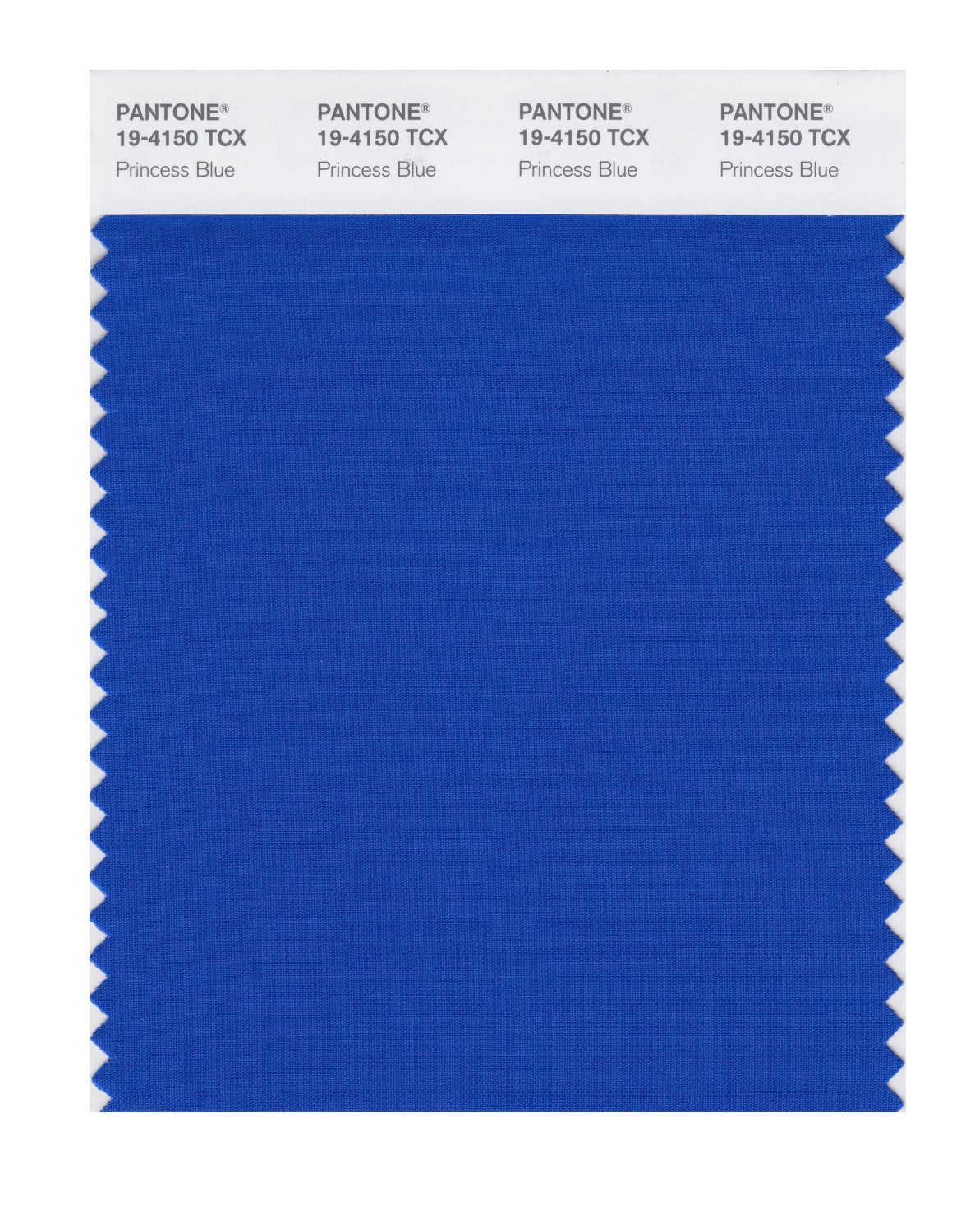 Pantone Smart Swatch 19-4150 Princess Blue