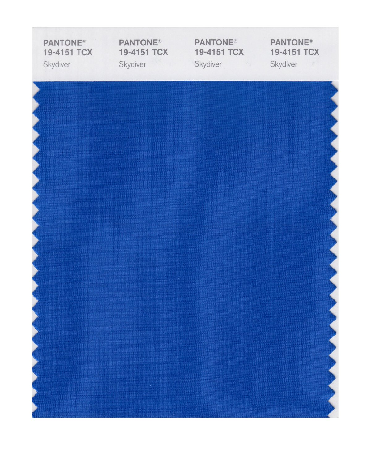 Pantone Smart Swatch 19-4151 Skydiver