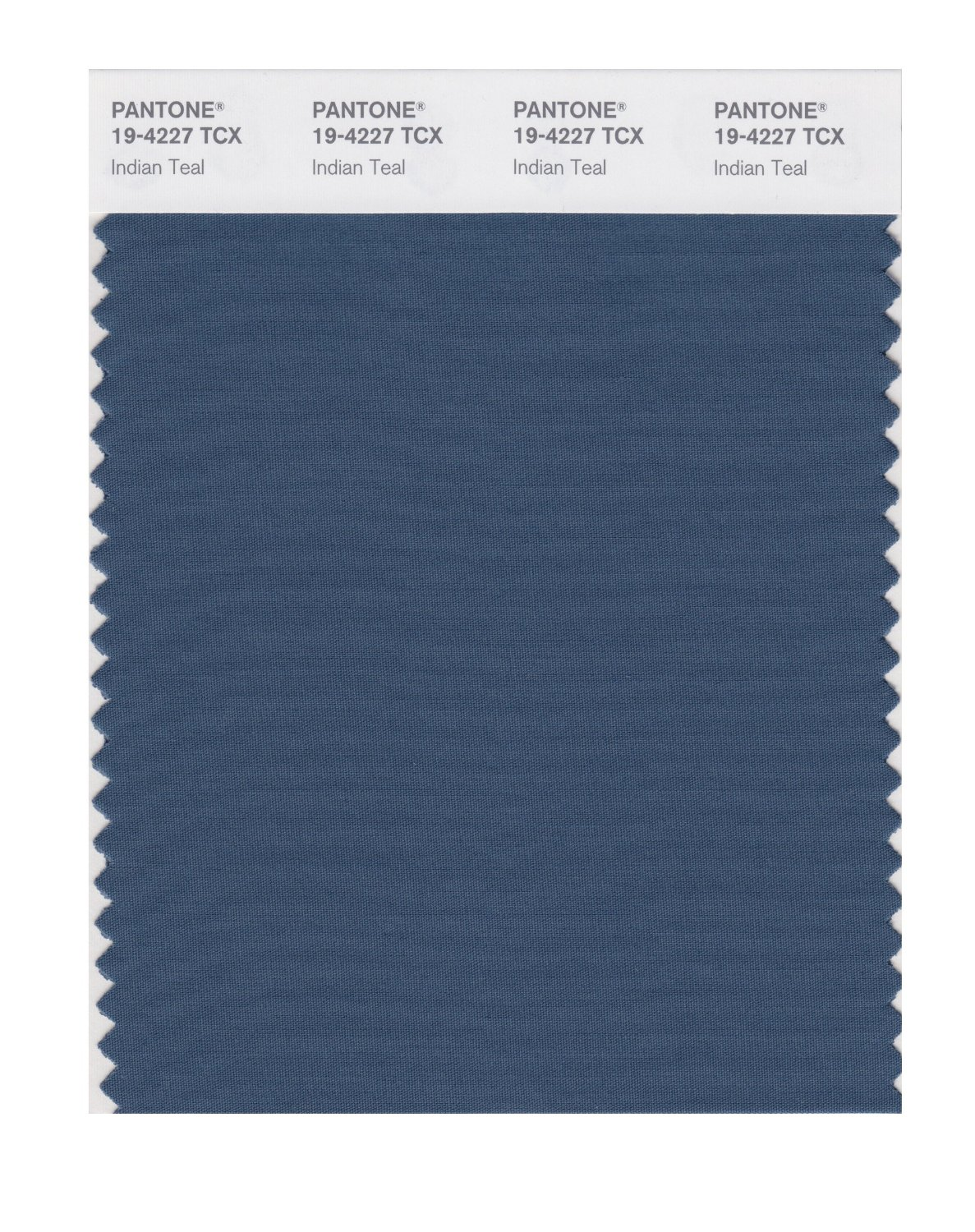 Pantone Smart Swatch 19-4227 Indian Teal
