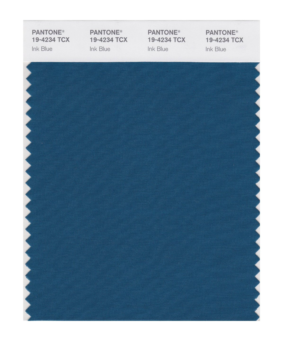 Pantone Smart Swatch 19-4234 Ink Blue