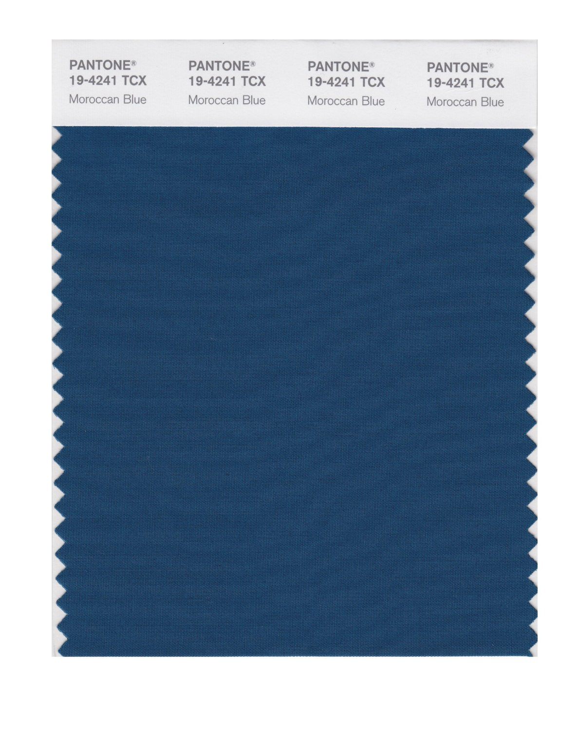 Pantone Smart Swatch 19-4241 Morracan Blue