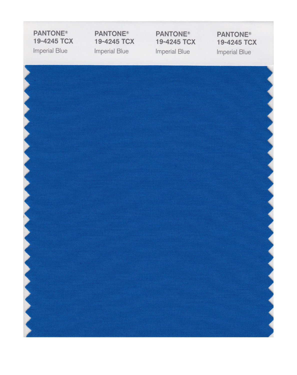 Pantone Smart Swatch 19-4245 Imperial Blue