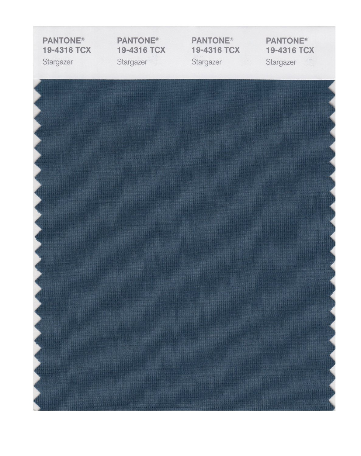 Pantone Smart Swatch 19-4316 Stargazer