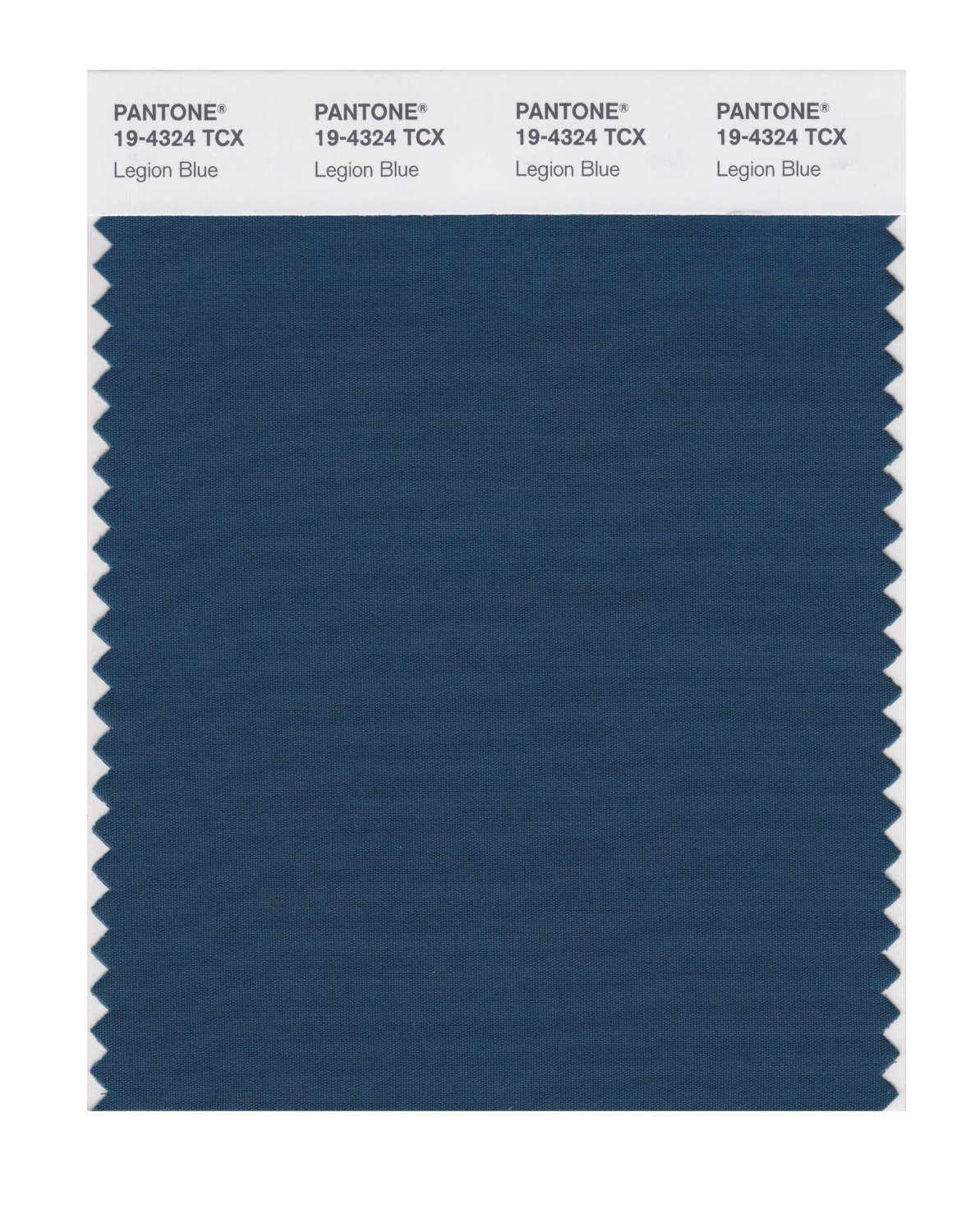 Pantone Smart Swatch 19-4324 Legion Blue