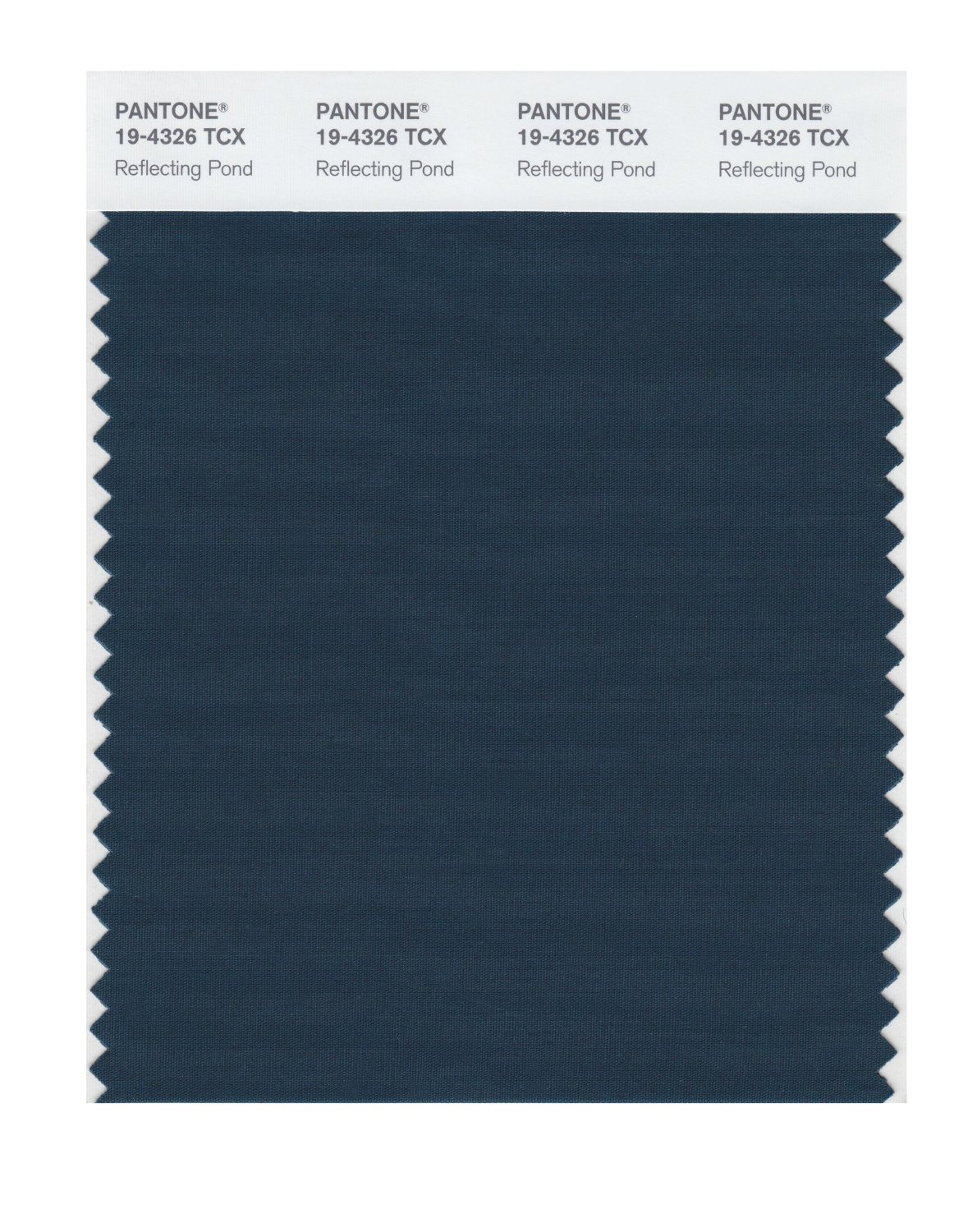 Pantone Smart Swatch 19-4326 Reflecting Pond