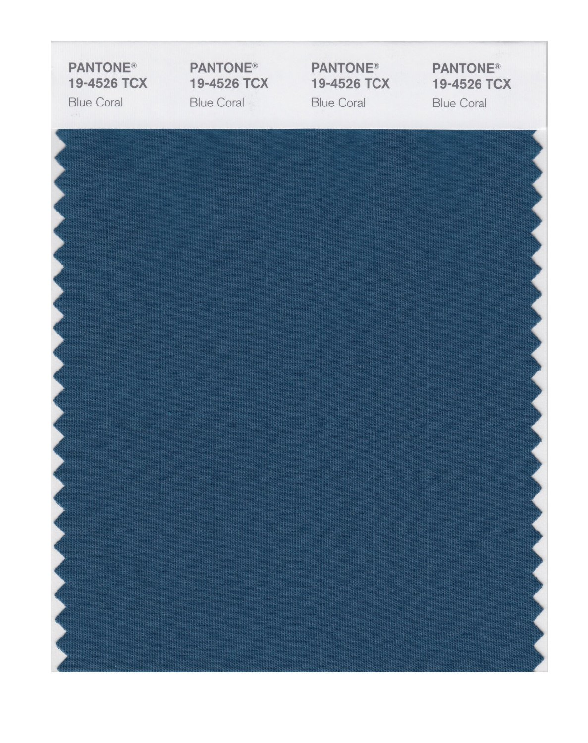 Pantone Smart Swatch 19-4526 Blue Coral