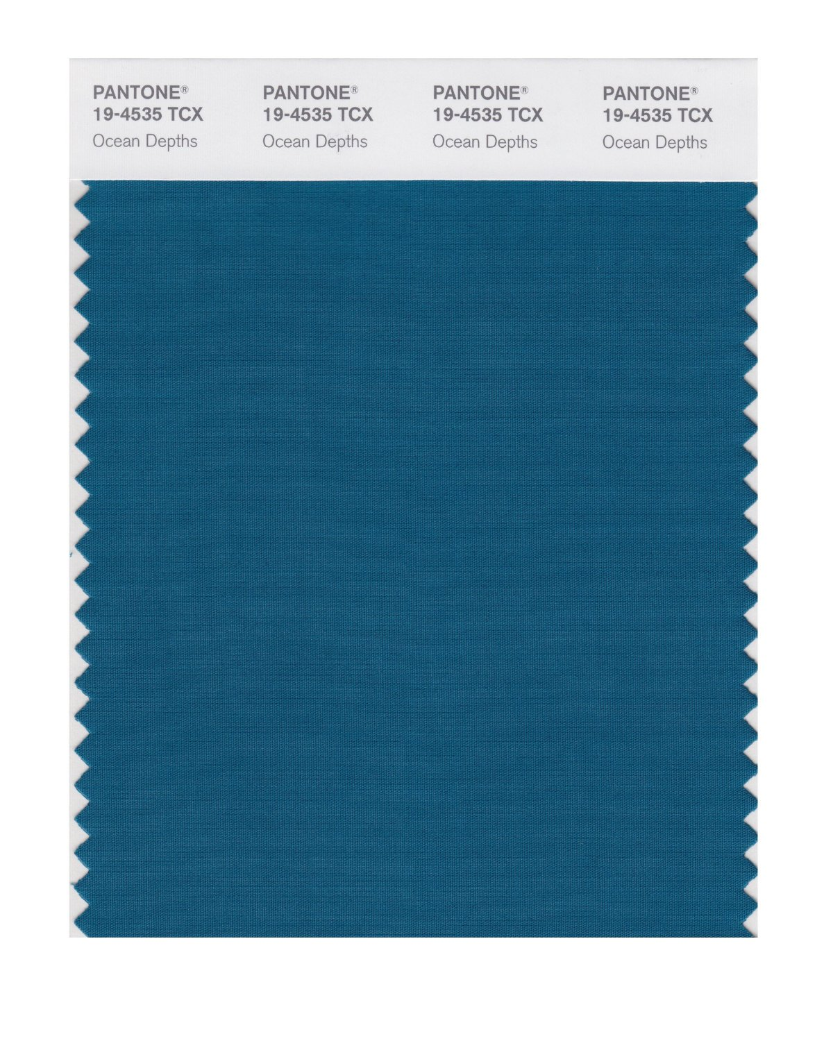 Pantone Smart Swatch 19-4535 Ocean Depths