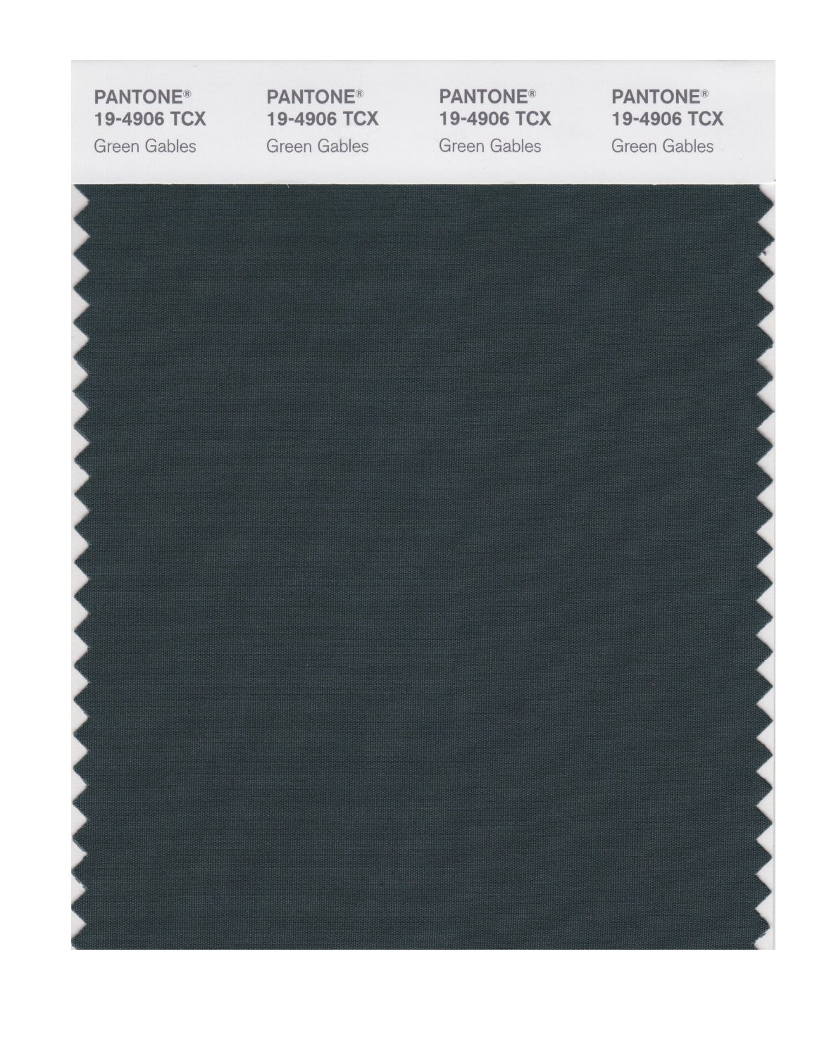 Pantone Smart Swatch 19-4906 Green Gables