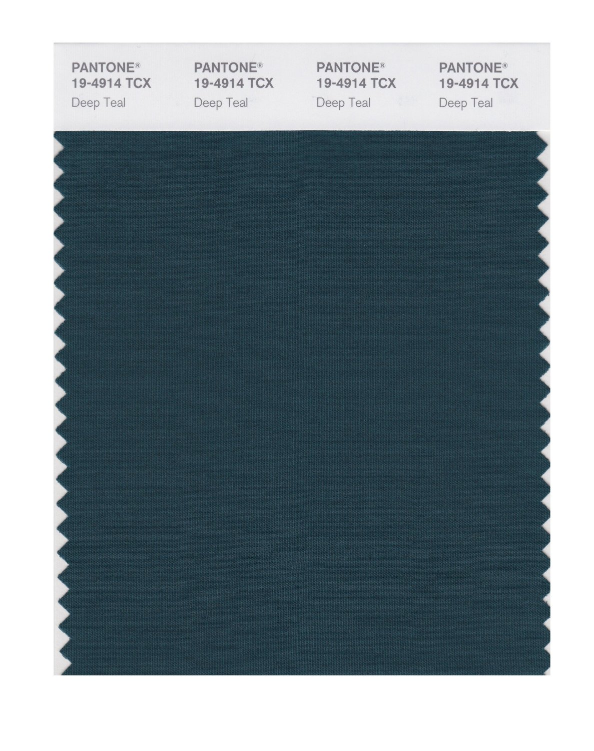 Pantone Smart Swatch 19-4914 Deep Teal