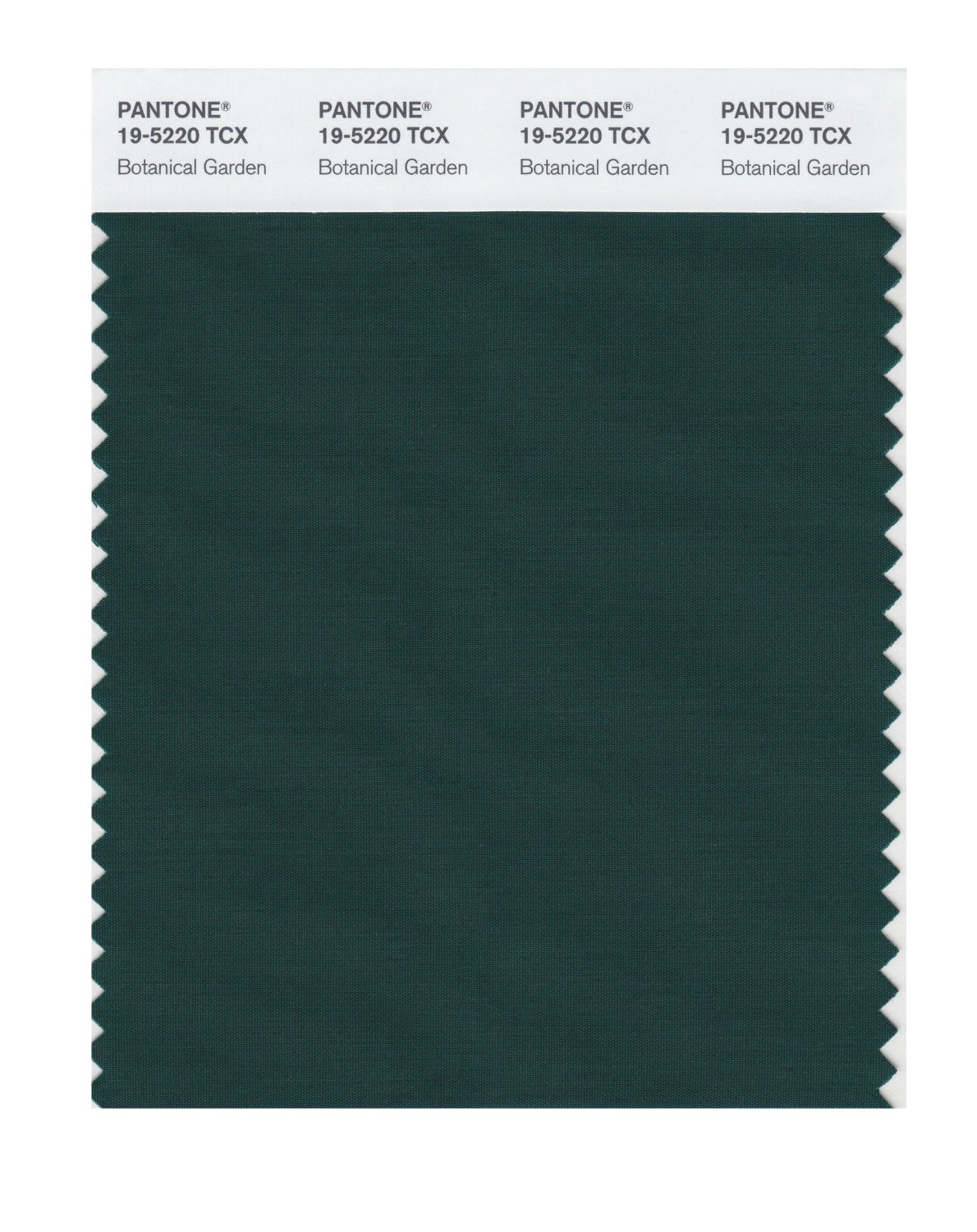Pantone Smart Swatch 19-5220 Botanical Garden