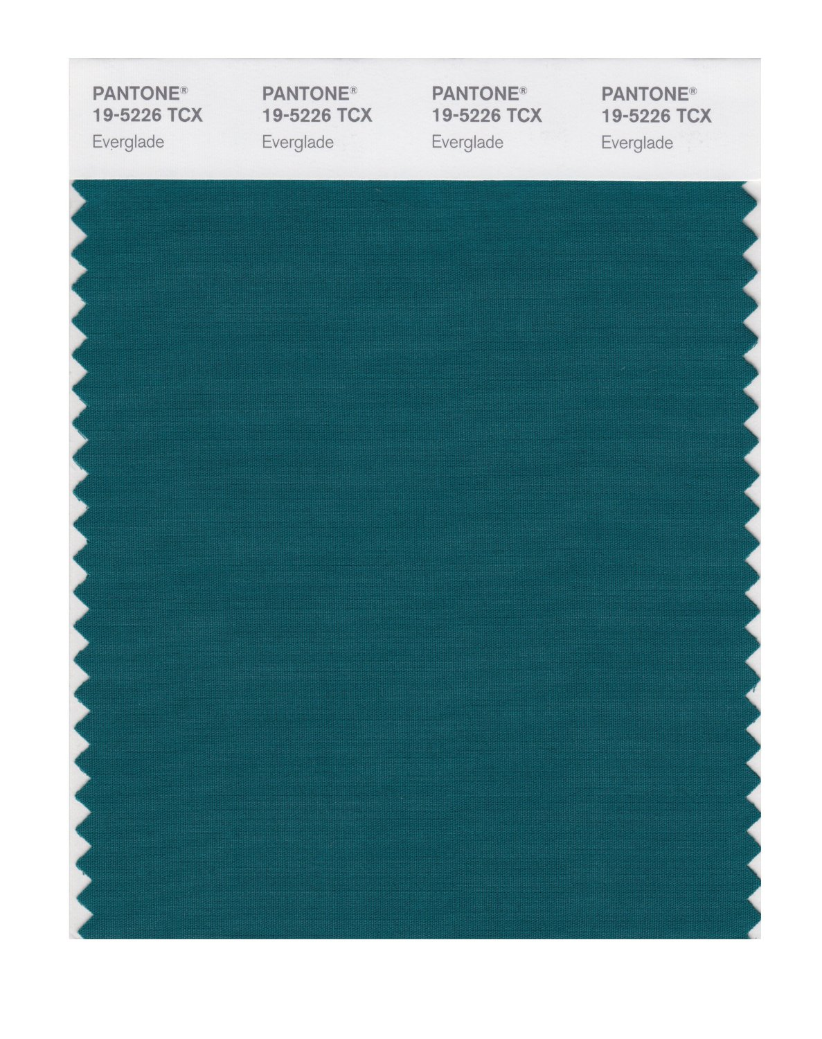 Pantone Smart Swatch 19-5226 Everglade