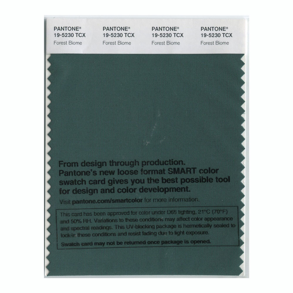 Pantone Smart Swatch 19-5230 Forest Biome