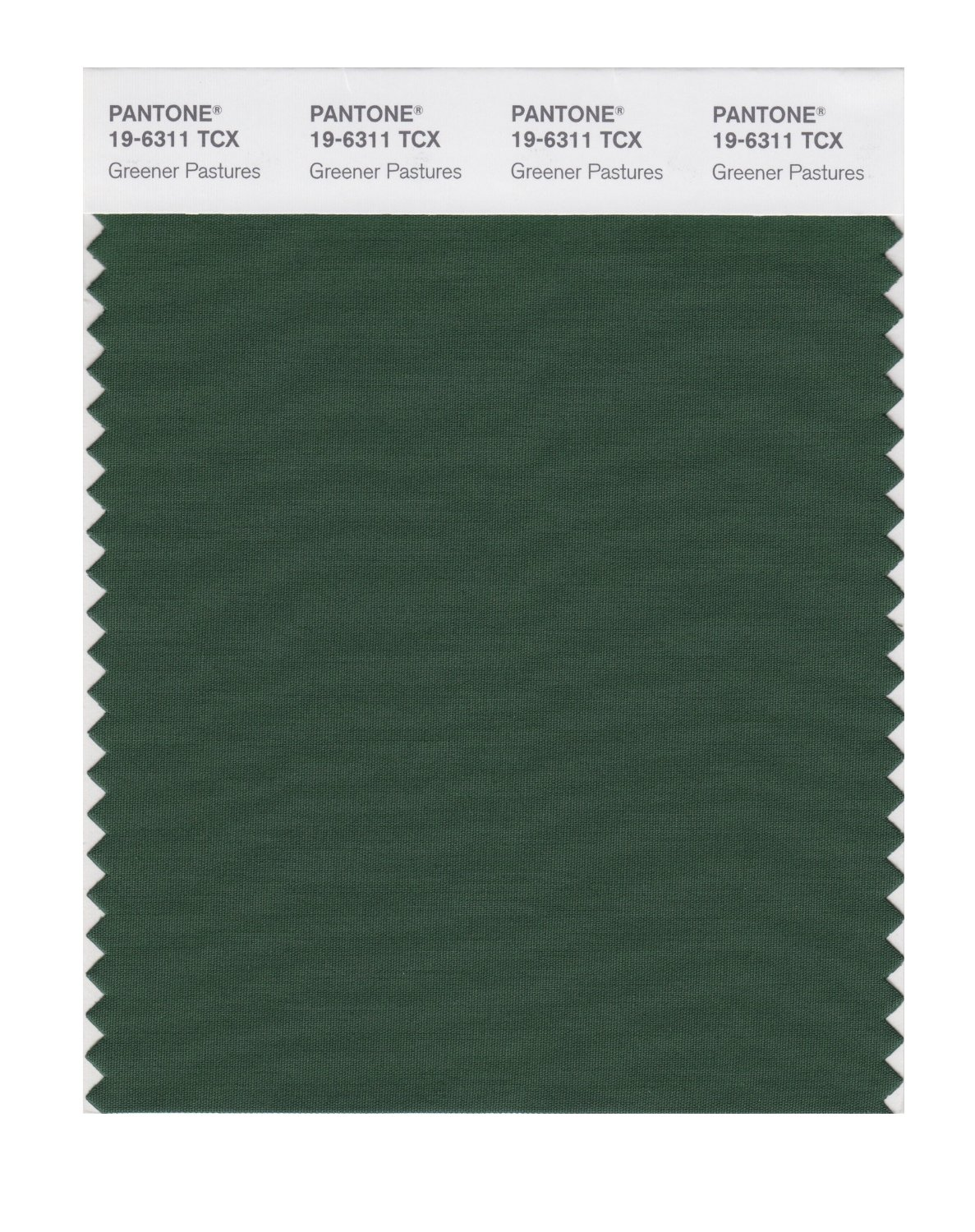 Pantone Smart Swatch 19-6311 Greener Pastures