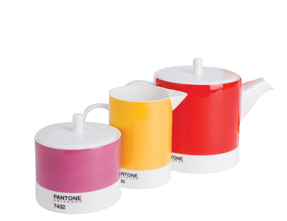 PANTONE UNIVERSE Teapots, Creamer Sets and Trays