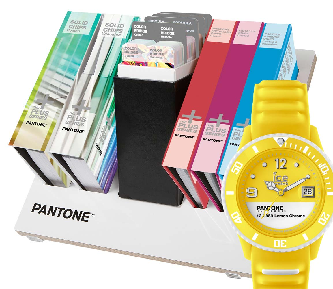 Pantone Plus Reference Library with Ice Watch