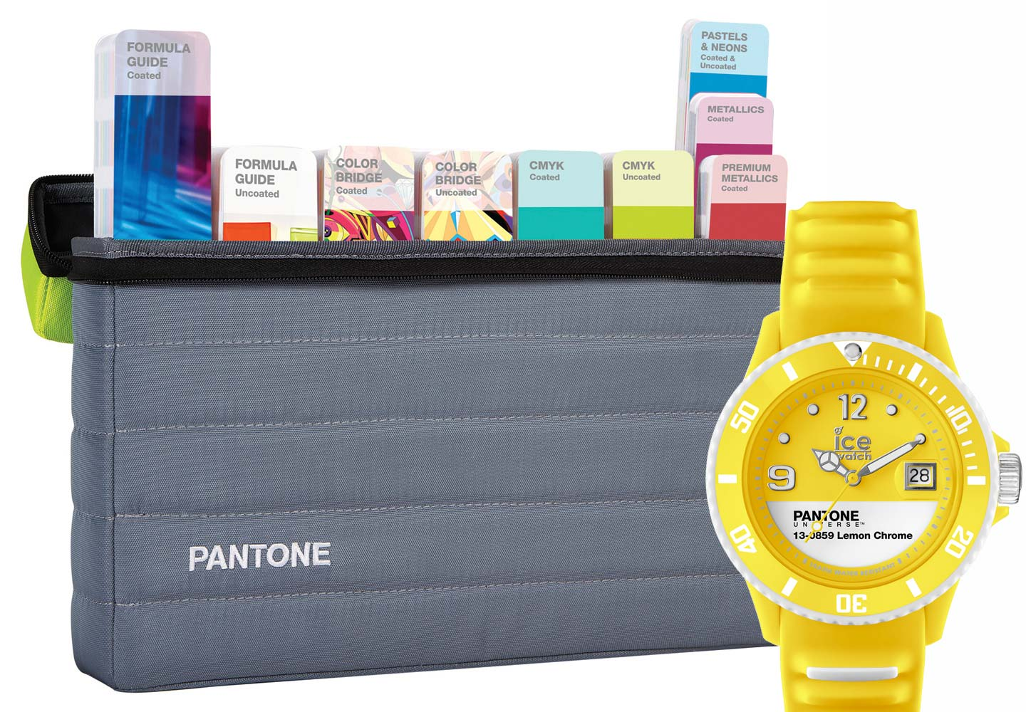 Pantone Plus Portable Studio Guide Set with watch