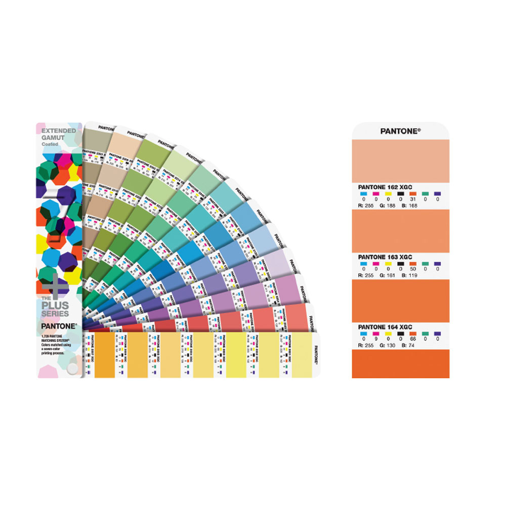 Pantone Extended Gamut Coated Guide GG-7000