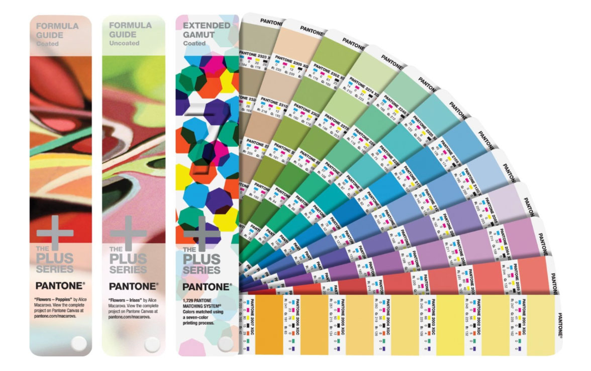 Pantone Solid-To-Seven Set 2015-004