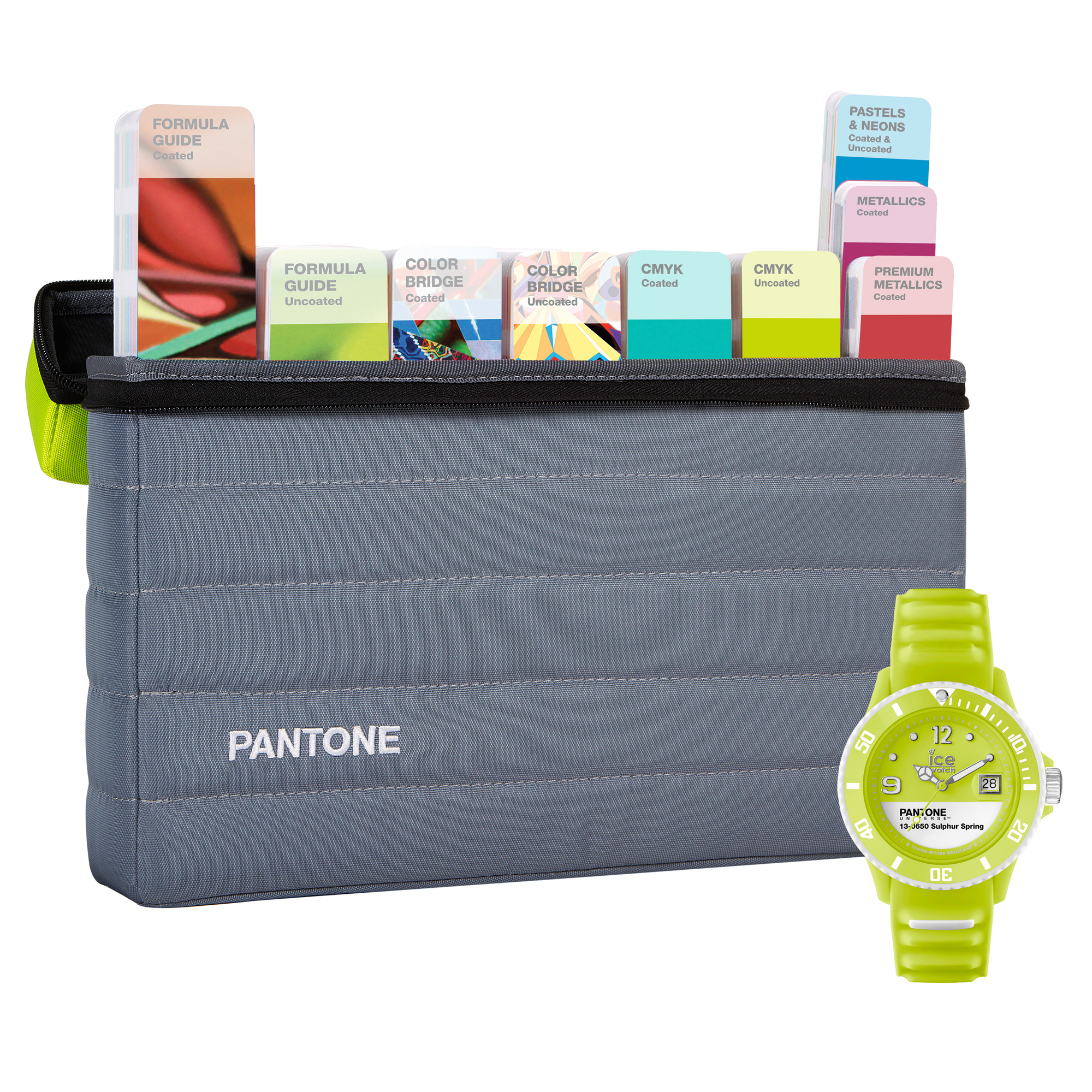 Pantone Portable Stuido Guide Set with FREE ICE Watch