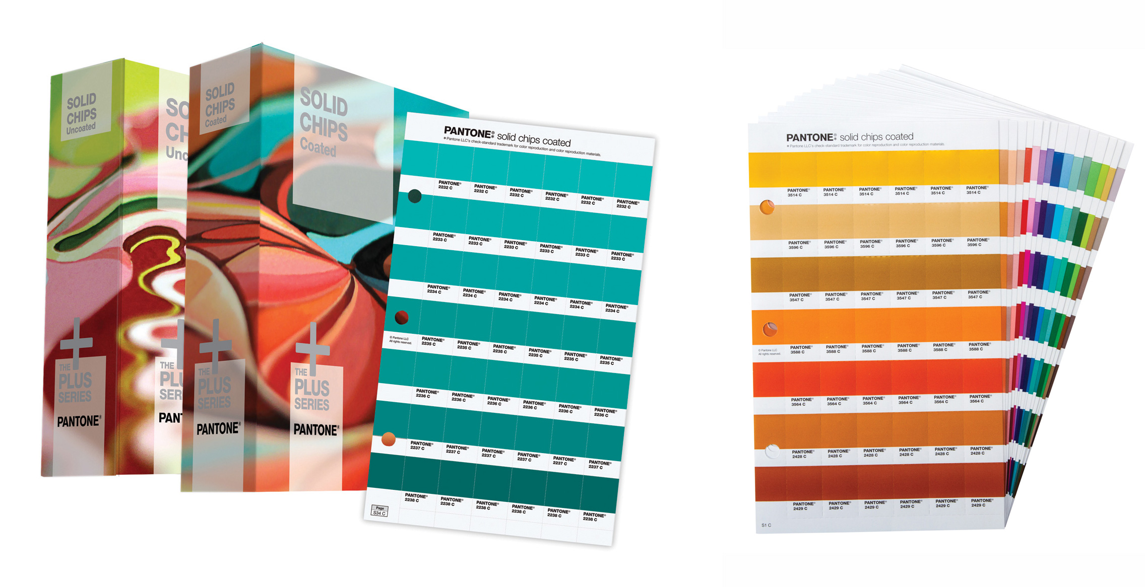 Pantone Solid Chips Two Book Set Gp1606 W Sup