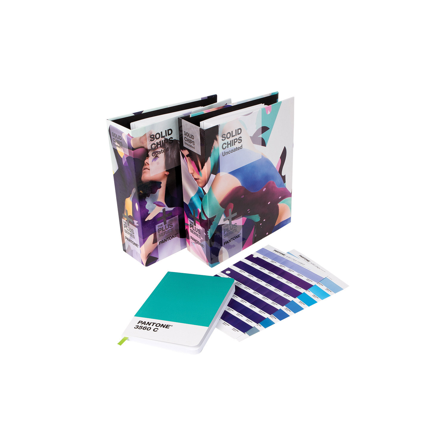 Pantone Solid Two Book Set With Notebook