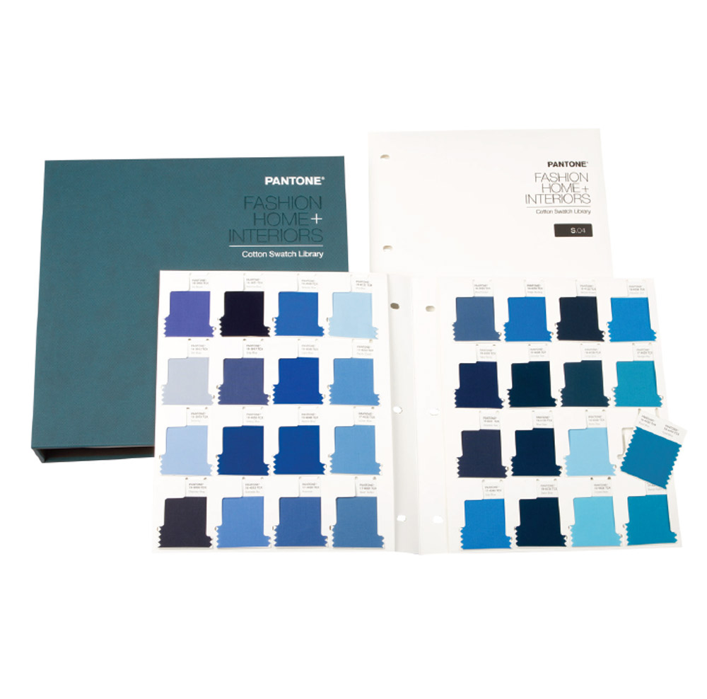 Pantone Cotton Swatch Library Supplement