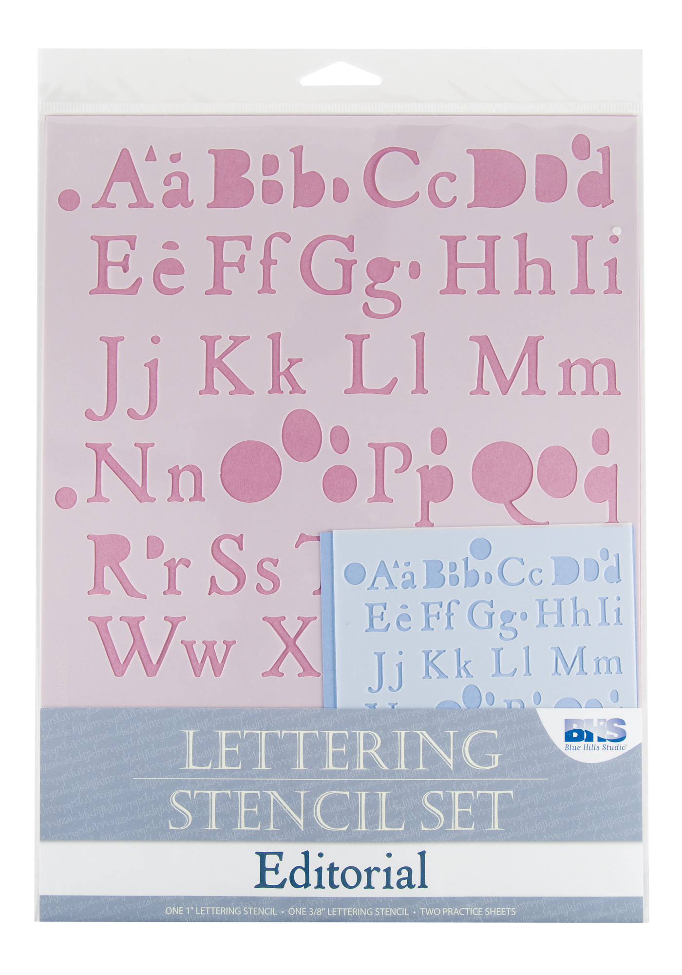 Lettering Stencil Set: Editorial