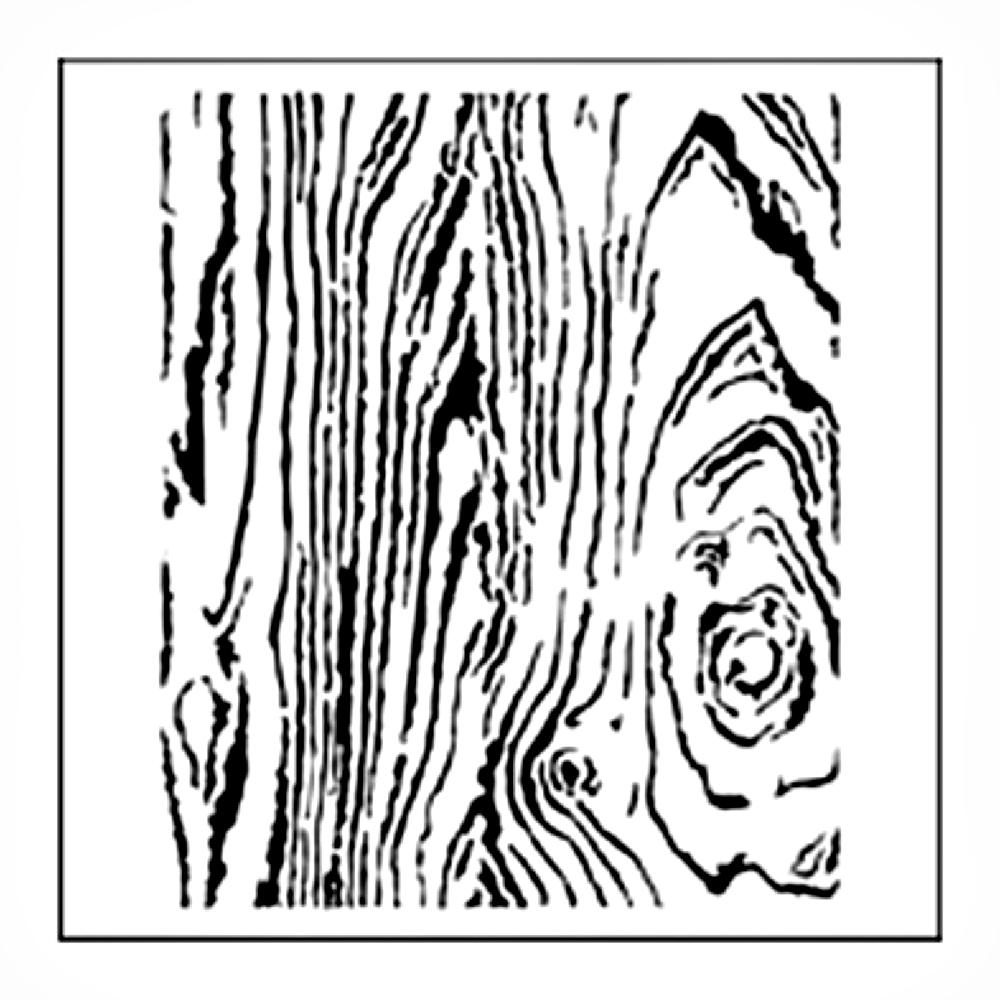 BUY Stencil 12in x 12in Wood Grain