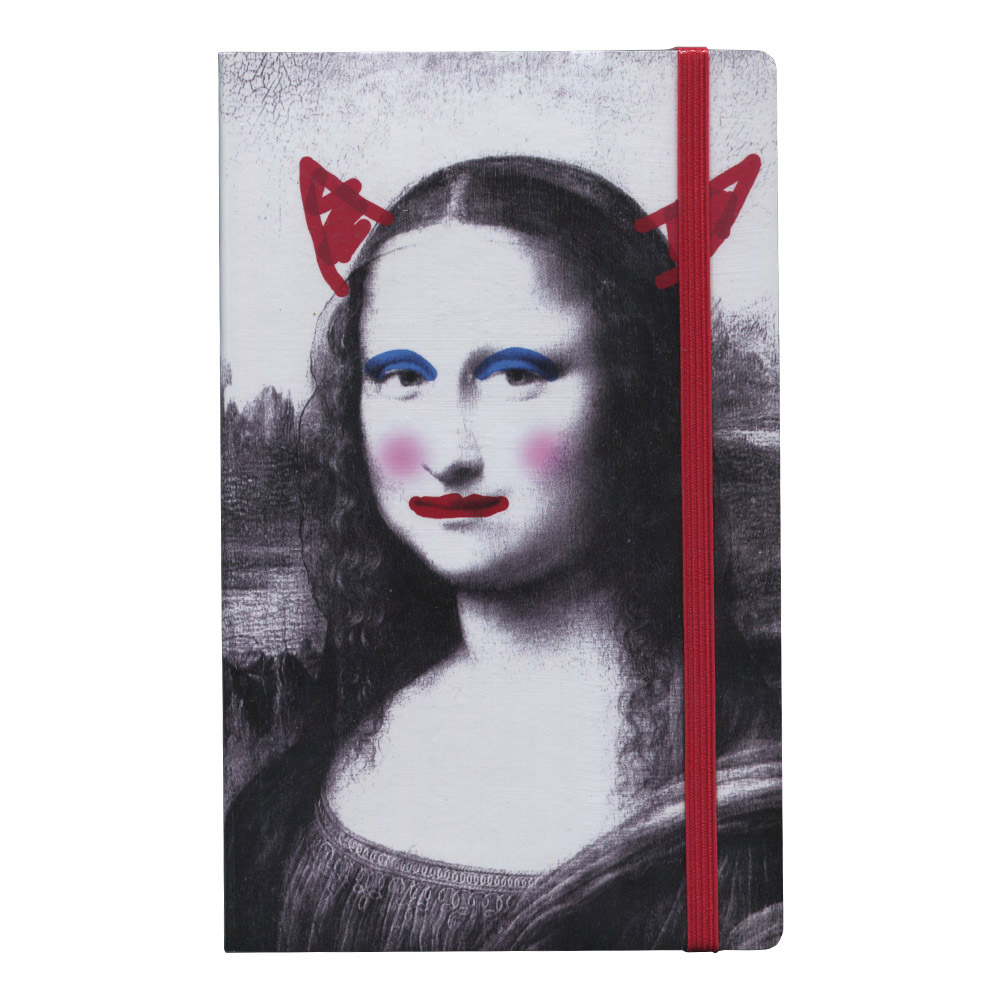Stifflexible Mona Lisa Devil Ntbk 5X8.25