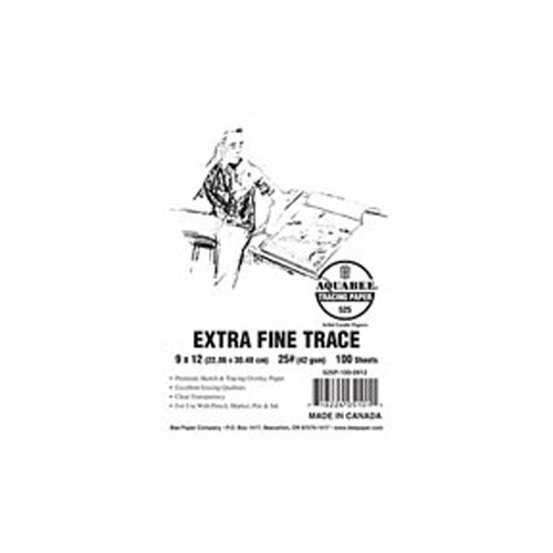 Aquabee Ex-Fine Tracing Pad/50 9X12