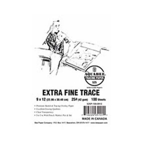 Aquabee Ex-Fine Tracing Pad/50 11X14