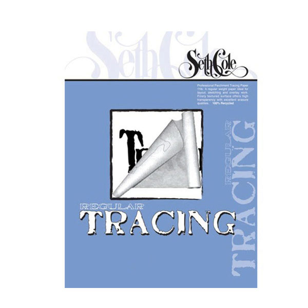 Seth Cole Tracing Paper Pad/100 14X17