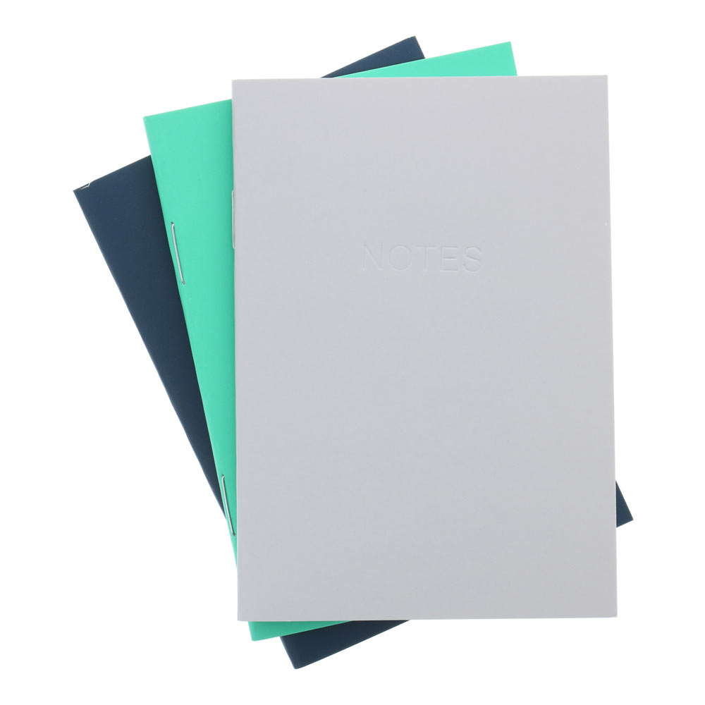 AA Everyday Softcover Notebook 3.5x5 3pk