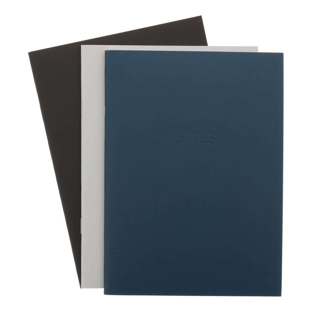 AA Everyday Softcover Notebook 6x8.25 3pk