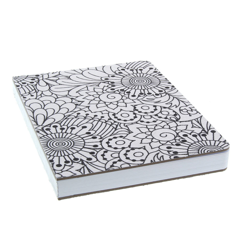 AA Fashion Journal Color-In Canvas Blank 6x8