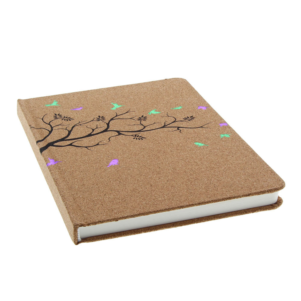 AA Fashion Journal Woodland Cork Lined 6x8