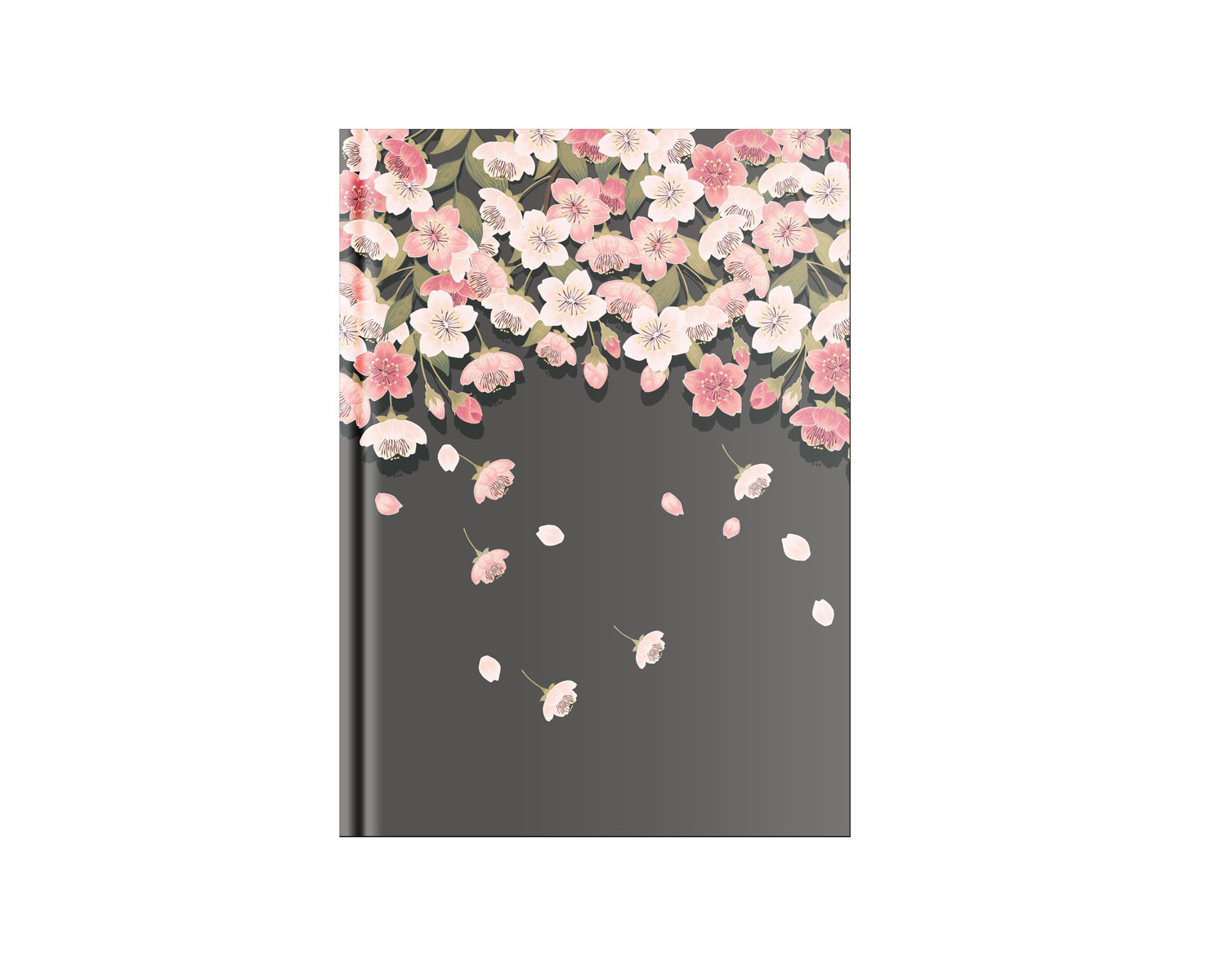 Belvedere Wall Of Flowers Notebook 6X8.25 In