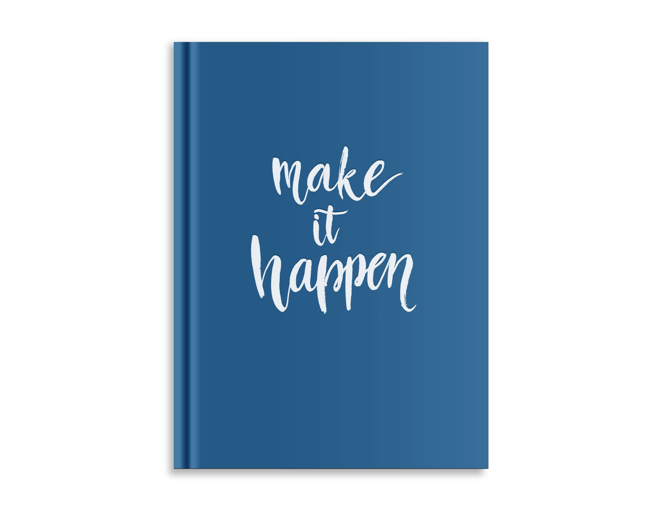 Belvedere Make It Happen Notebook 7X9.5 Inch