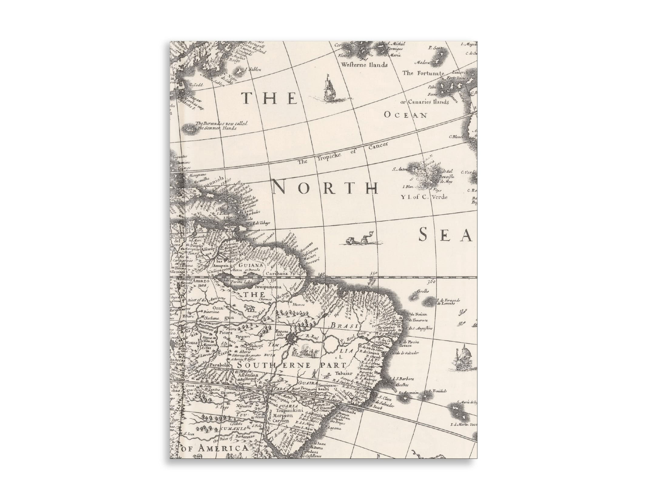 Belvedere World Map Notebook 7X9.5 Inch