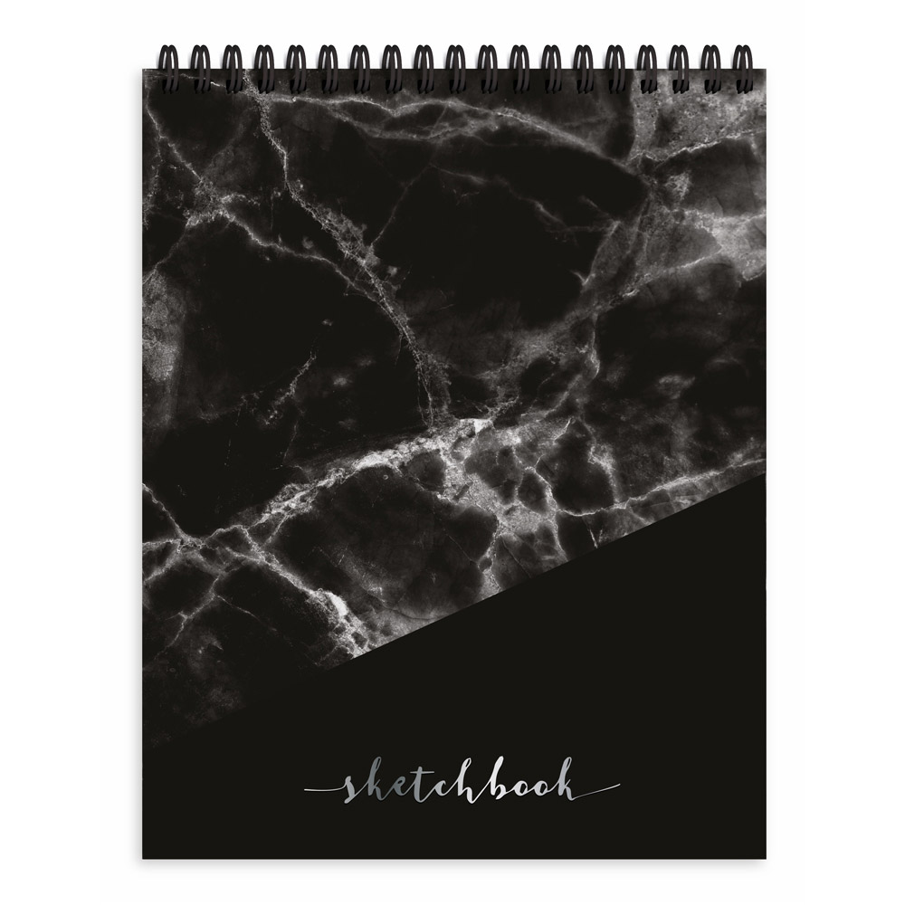Pierre Belvedere Sketchbook: Marble Black