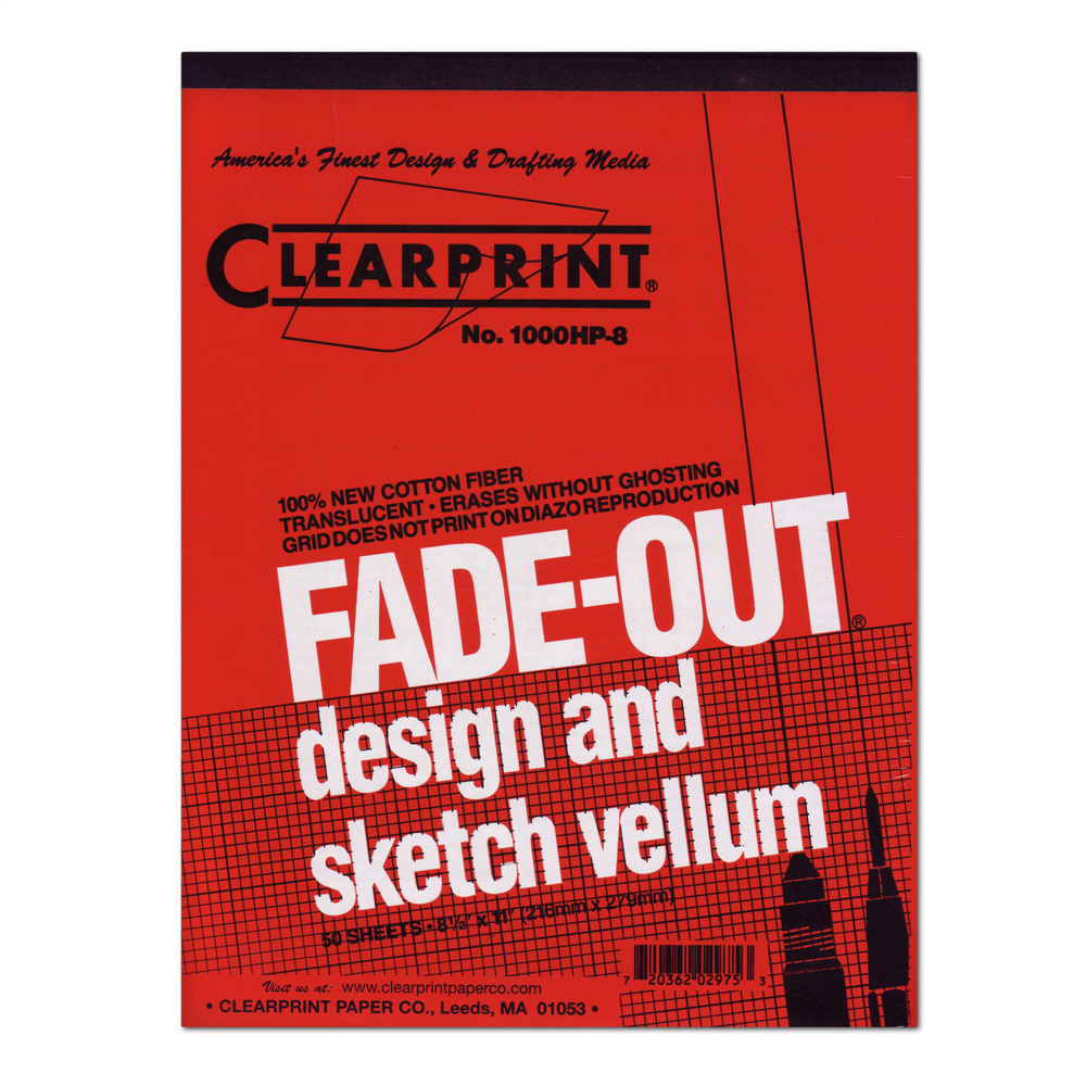 Clearprint Vellum 1000Hp 11X17 Pad 4X4