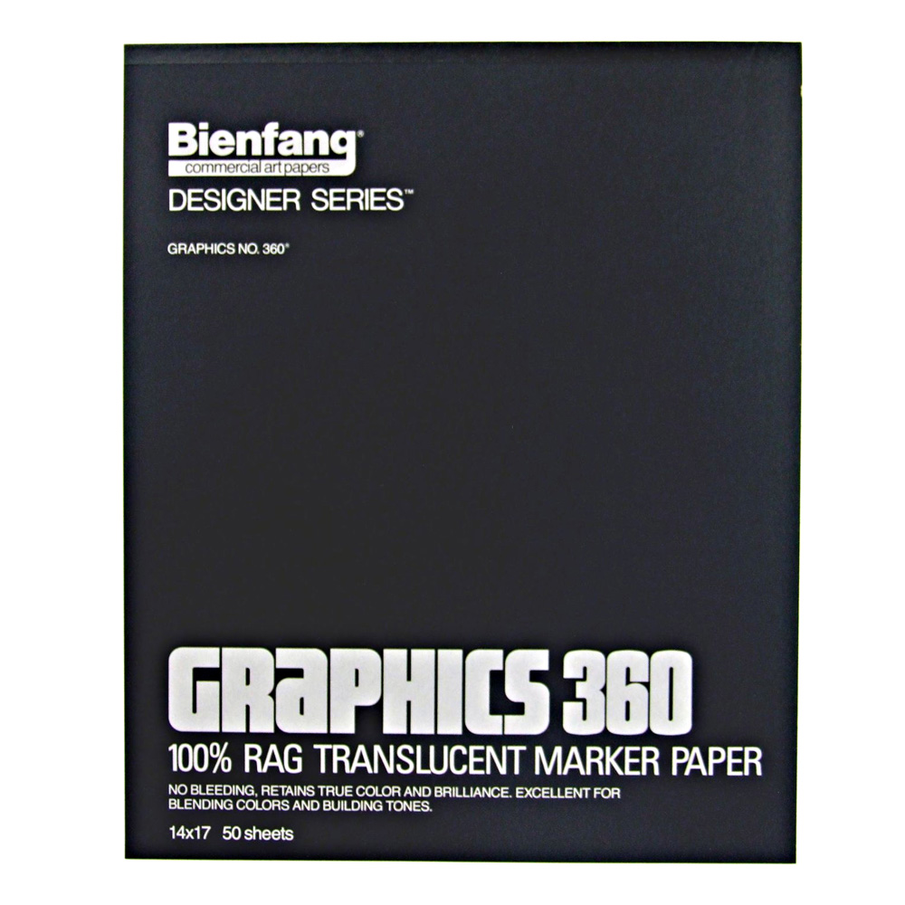 Bienfang 360 Graphics Pad 50 Sheets 14X17