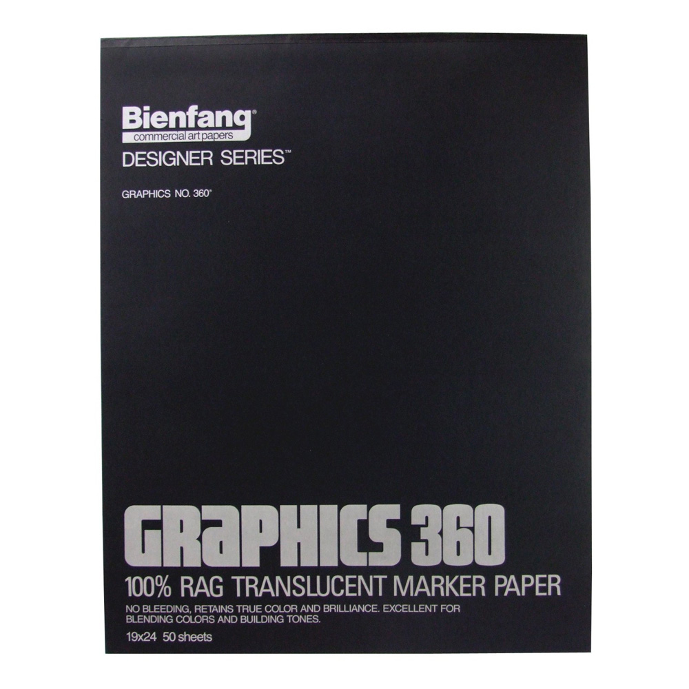 Bienfang 360 Graphics Pad 50 Sheets 19X24