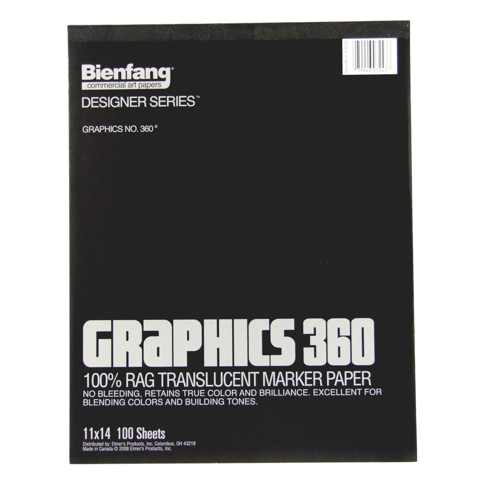 Bienfang 360 Graphics Pad 100 Sheets 11X14