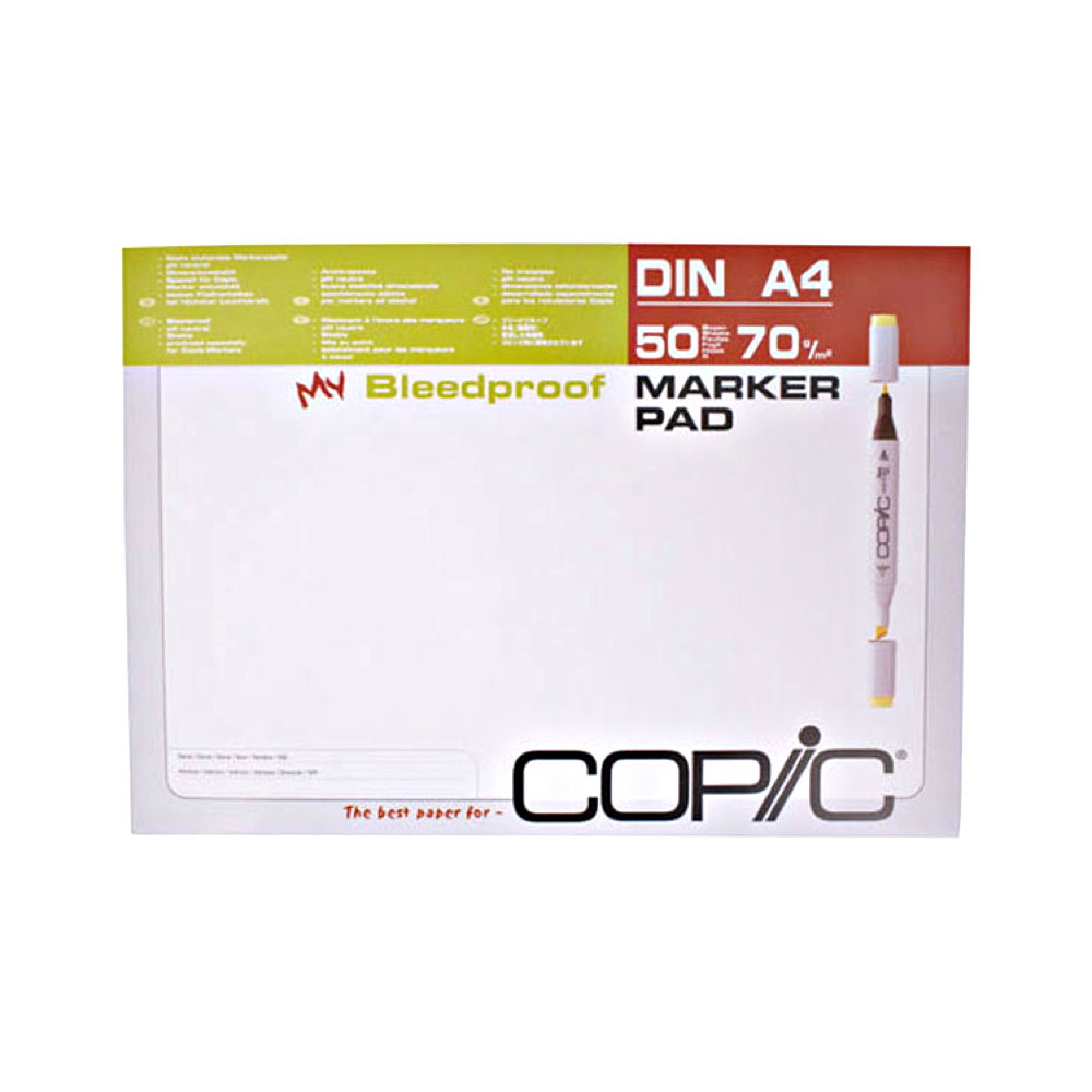 Copic Alcohol Marker Pad A4 50/Sheets