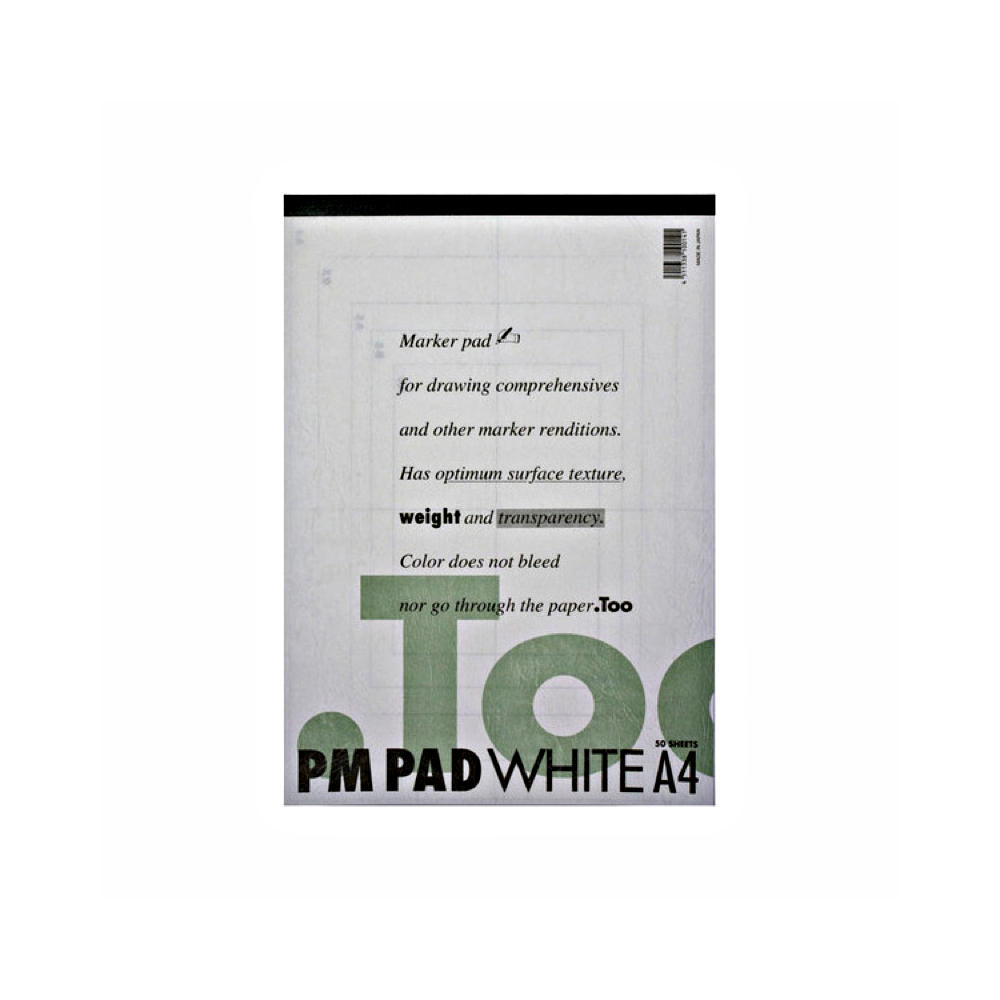 Copic Marker Pm Pad White A4 50Sh