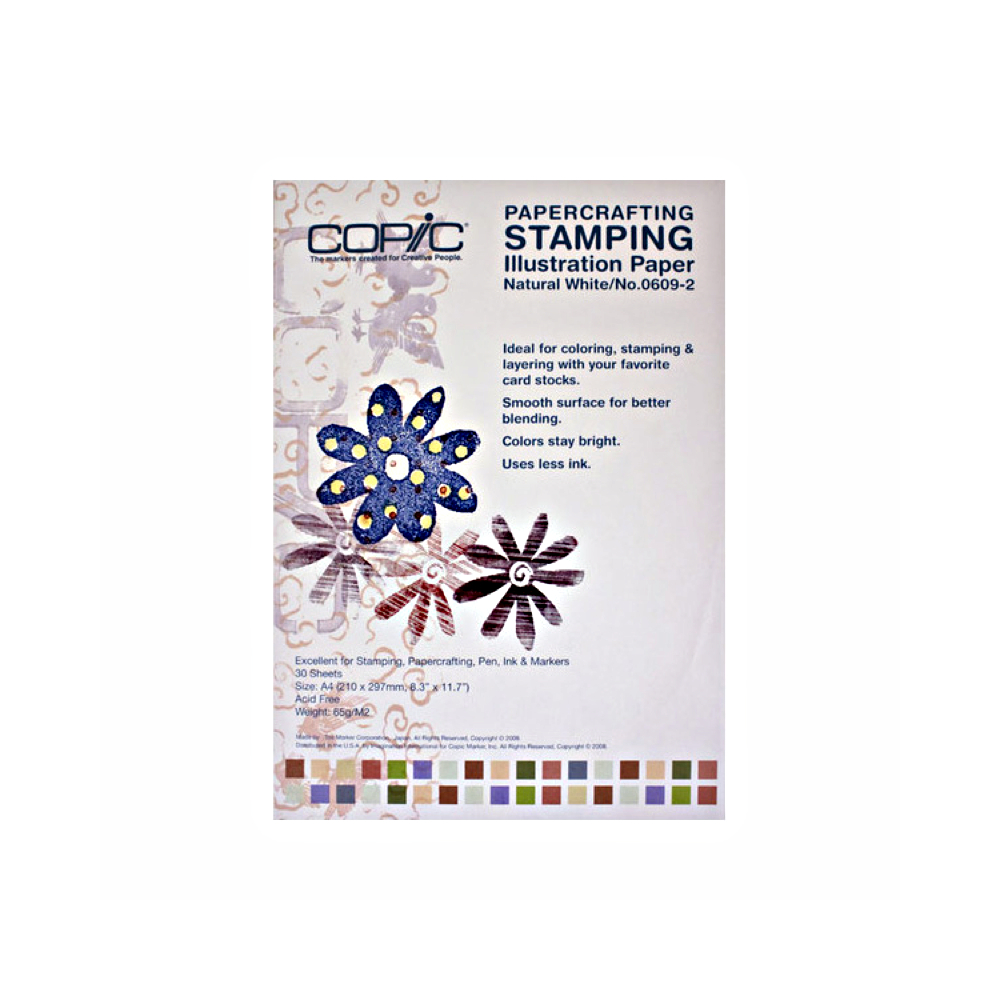 Copic Stamping Illustration Paper A4