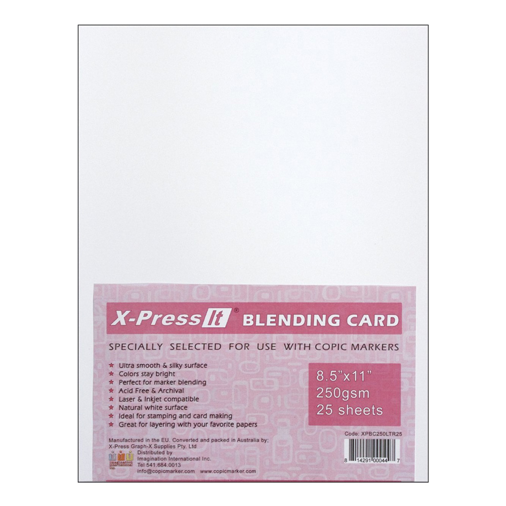 Copic Marker X-Press It Blending Card 25/Sh